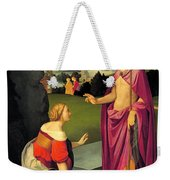Easter Morning Weekender Tote Bag
