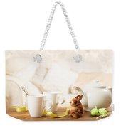 Easter Tea Break Weekender Tote Bag
