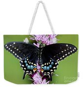 Eastern Black Swallowtail Butterfly Weekender Tote Bag
