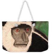 Eastern Colobus Monkey Weekender Tote Bag