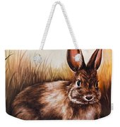 Eastern Cottontail Rabbit Weekender Tote Bag