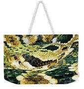 Eastern Diamondback Rattlesnake Weekender Tote Bag