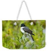Eastern Kingbird Weekender Tote Bag