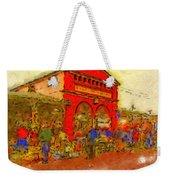 Eastern Market Weekender Tote Bag