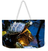 Eastern Painted Turtles Weekender Tote Bag