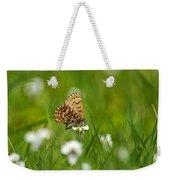 Eastern Pine Elfin Butterfly Weekender Tote Bag