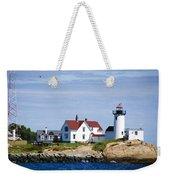 Eastern Point Lighthouse Weekender Tote Bag