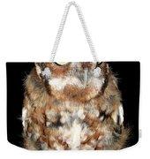 Eastern Screech Owl Weekender Tote Bag