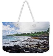 Eastern Shore Of Maui Weekender Tote Bag