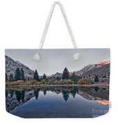 Eastern Sierras Reflection Weekender Tote Bag
