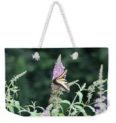 Eastern Tiger Swallowtail Butterfly -  Featured In Wildlife Group Weekender Tote Bag