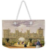 Eastern View Of The Castle And Garden Weekender Tote Bag