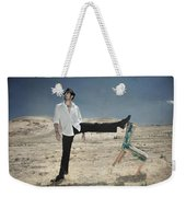 Easy Breezy Cool Weekender Tote Bag by Laurie Search