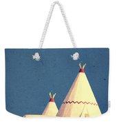 Eat And Sleep In A Wigwam Weekender Tote Bag
