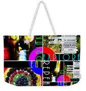 Eat Drink Explore Repeat 20140713 Horizontal Weekender Tote Bag