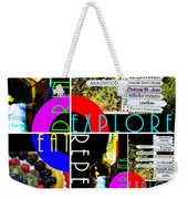 Eat Drink Explore Repeat 20140713 Vertical Weekender Tote Bag