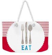 Eat Weekender Tote Bag