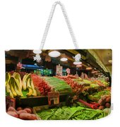 Eat Your Fruits And Vegetables Weekender Tote Bag
