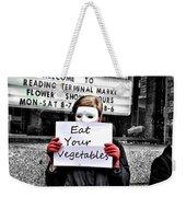 Eat Your Vegetables Weekender Tote Bag