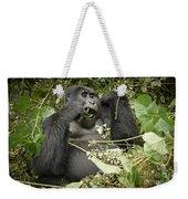 Eating Mountain Gorilla Weekender Tote Bag
