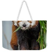 Eating With Mouth Full Weekender Tote Bag