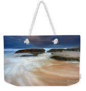 Ebb Tide Sunrise Weekender Tote Bag