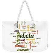 Ebola Weekender Tote Bag
