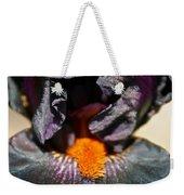 Ebony Iris Weekender Tote Bag