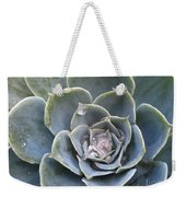 Echeveria With Water Drops Weekender Tote Bag