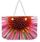 Echinacea Flower Upclose Filtered Weekender Tote Bag