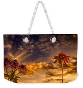 Echinacea Sunset Weekender Tote Bag by Bob Orsillo
