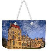 Eclectic Castle Weekender Tote Bag by Susan Candelario