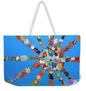 Eclectic Sun Weekender Tote Bag