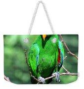 Eclectus Parrot-1 Weekender Tote Bag