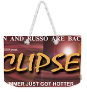 Eclipse Faux Movie Banner Weekender Tote Bag
