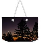 Eclipse In Yosemite Weekender Tote Bag