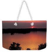 Eclipse Of The Sunset Weekender Tote Bag