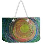 Eclipse Of Time Weekender Tote Bag by Daina White