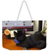 Eclipse Reading Facebook Weekender Tote Bag