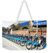 Ecological Transport Weekender Tote Bag