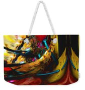 Ecstasy In Leather And Pearl Weekender Tote Bag