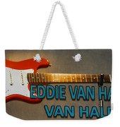 Eddie Van Halen Guitar Weekender Tote Bag