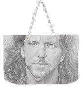 Eddie Vedder Weekender Tote Bag by Olivia Schiermeyer