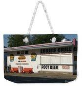Eddie's Grill Weekender Tote Bag
