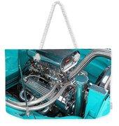 Edelbrock In A Chevy 3100 Hotrod Weekender Tote Bag