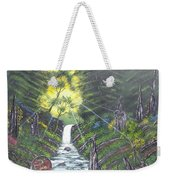 Eden's Bridge Weekender Tote Bag