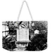 Edgar Allen Poe Grave Site Baltimore Weekender Tote Bag