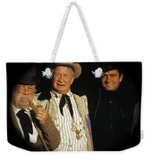 Edgar Buchanan Chills Wills  Johnny Cash Porch Old Tucson Arizona 1971-2008 Weekender Tote Bag