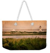 Edgartown Lighthouse Weekender Tote Bag