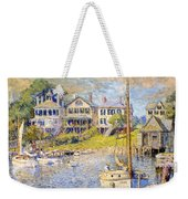 Edgartown  Martha's Vineyard Weekender Tote Bag by Colin Campbell Cooper